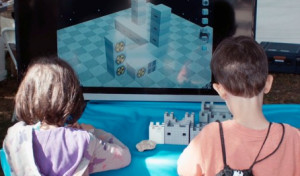 Blokify Empowers 3D Modeling For Kids with iPad Interfaces: a combo of structured finger-painting and Minecraft on iOS touchscreens, even K-5ers can grok this interface...