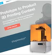 "Shapeways Masters ""Digi-Contest"" Marketing with ""Prototype to Product"" Challenge"