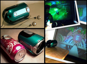 """MakeMeister's BritePod: Re-Hackable, Modular Mini Projector: the Grand Prize Winner in Shapeways """"Prototype to Product"""" Digi-Contest"""