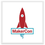 MakerCon Logo Rocket