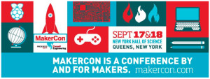 MakerCon New York 2014 debuted in the week prior to the 5th Annual World Maker Faire NY '14.
