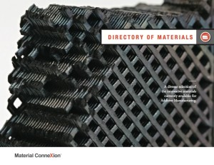 """Material (R)evolution: Additive Manufacturing""; MCX 3DP Materials Report ""Directory of Materials"" Section Divider"