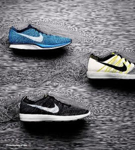 """Material (R)evolution: Additive Manufacturing""; MCX 3DP Materials Report: Nike ""Flyknit"" polyester-knitted uppers enable ""zoned performance"" --- in a single unit --- while reducing the component count from 35 to 2."