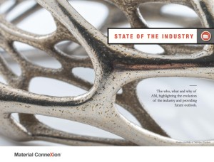 """Material (R)evolution: Additive Manufacturing""; MCX 3DP Materials Report ""State of the Industry"" Section Divider"